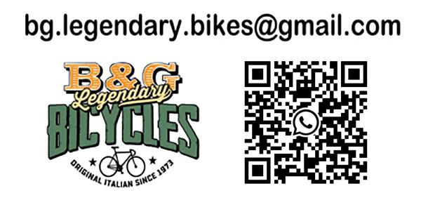 bg.legendary.bikes email mail vintage race bike colnago campagnolo cinelli
